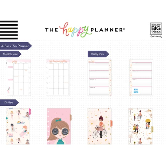 Create 365® The Mini Happy Planner® Squad Goals