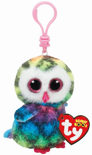 Buy the Ty Beanie Boos™ Owen Multicolored Owl Clip at Michaels 026e9c81b0b1