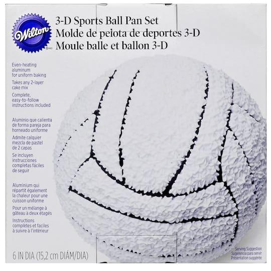 Wilton® 3-D Sports Ball Pan Set