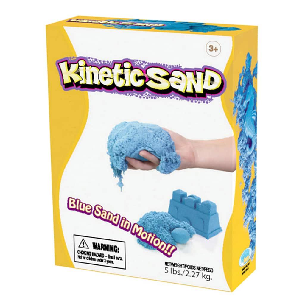 WABA Fun Kinetic Sand, Blue, 5lbs