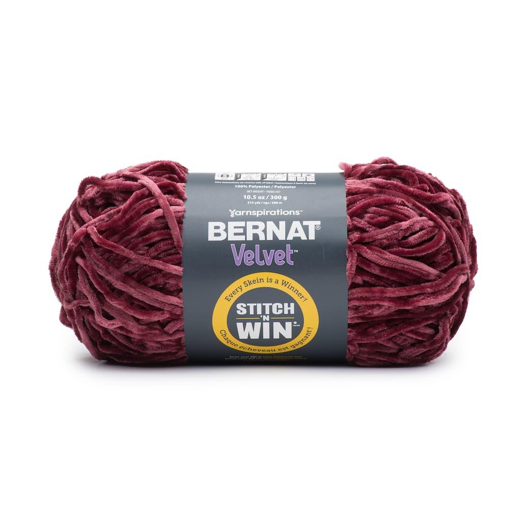 Buy The Bernat Velvet Stitch N Win Yarn At Michaels