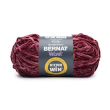 bernat velvet stitch n win yarn