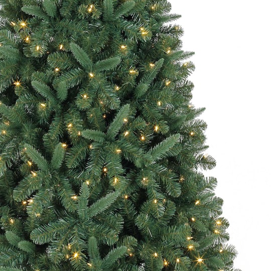 7 5ft Pre Lit Kensington Pine Artificial Christmas Tree Color Changing Led Lights By Ashland