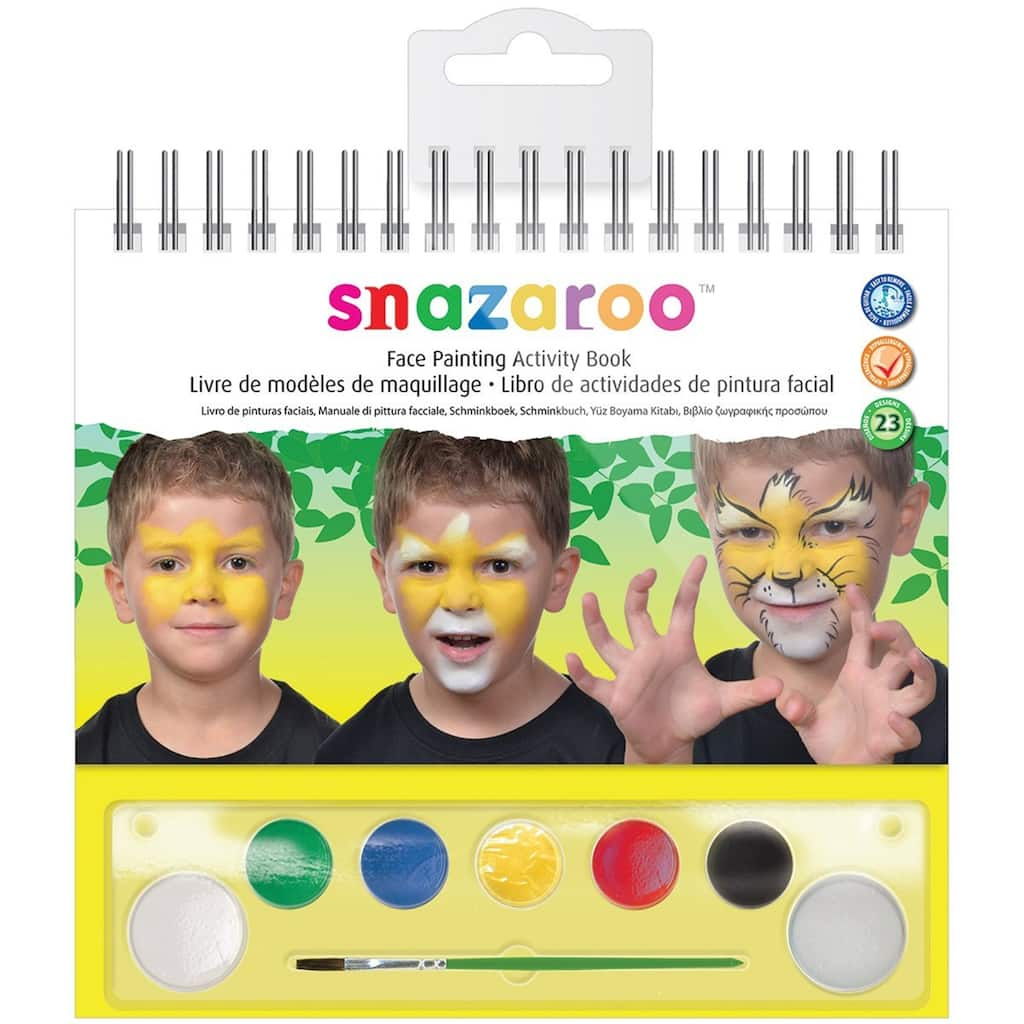 Shop The Snazaroo Face Painting Activity Book At Michaels