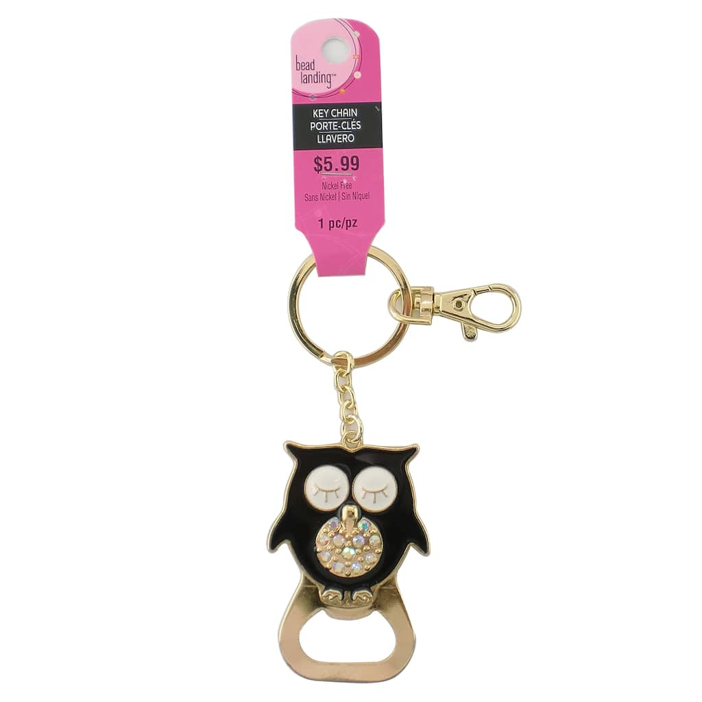 Shop For The Owl Bottle Opener Key Chain By Bead Landing At Michaels Circuit Board Glass Pendant Photo Necklace Keychain Img