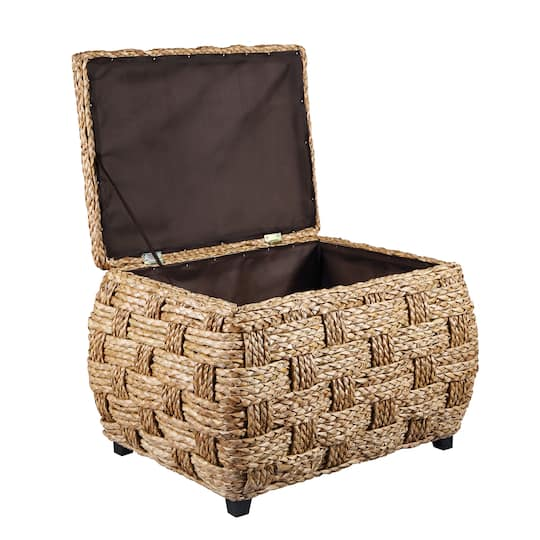 Miraculous Water Hyacinth Storage Ottoman By Ashland Lamtechconsult Wood Chair Design Ideas Lamtechconsultcom