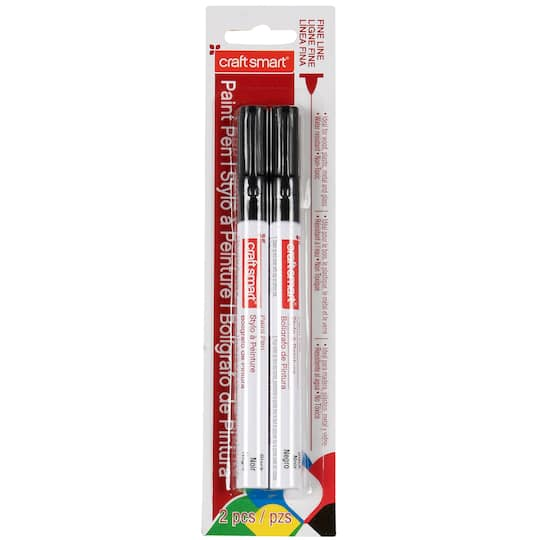 Craft Smart Fine Line Paint Pen 2 Pack