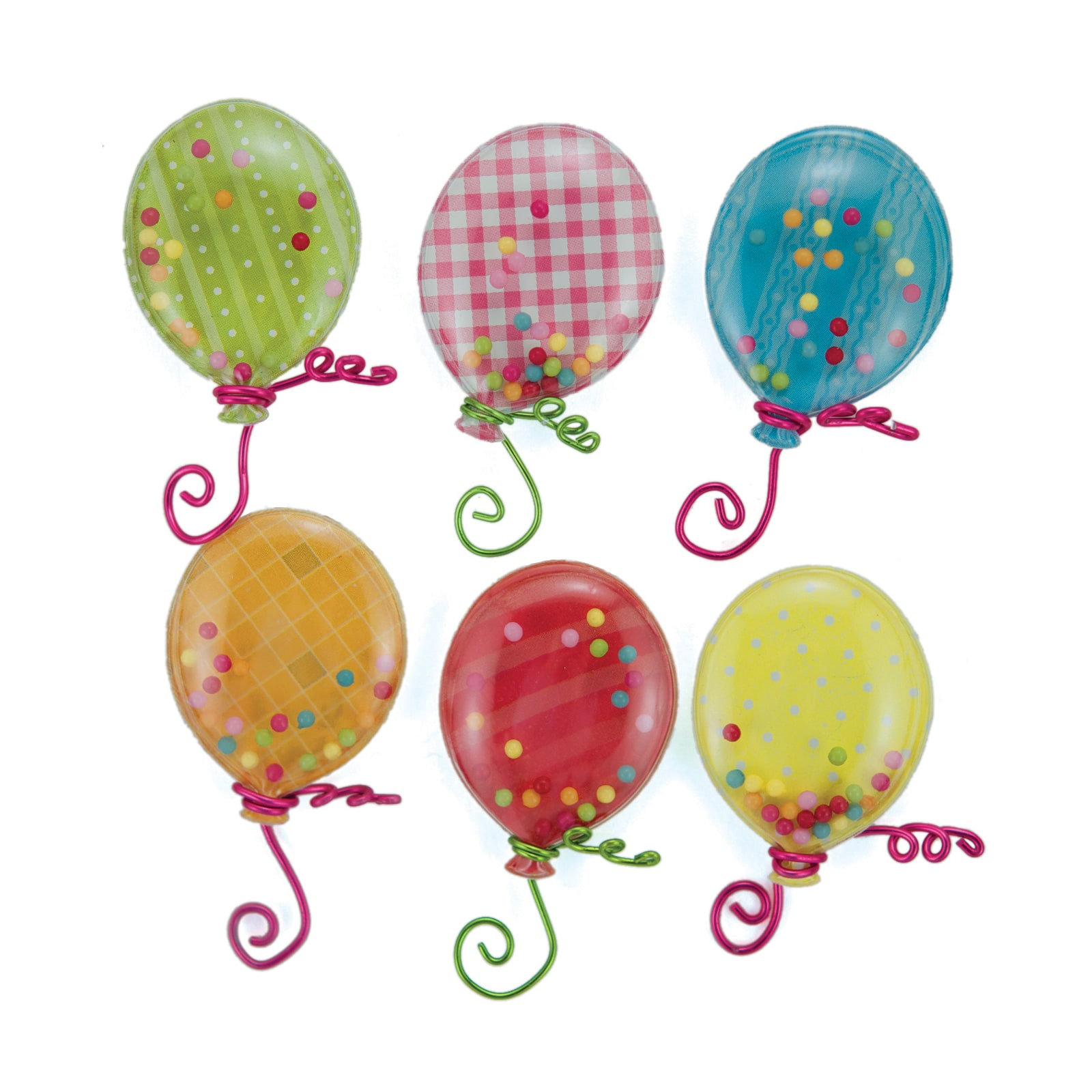 Jolee/'s BALLOON PARTY REPEATS Boutique Stickers BIRTHDAY BALLOONS NEW
