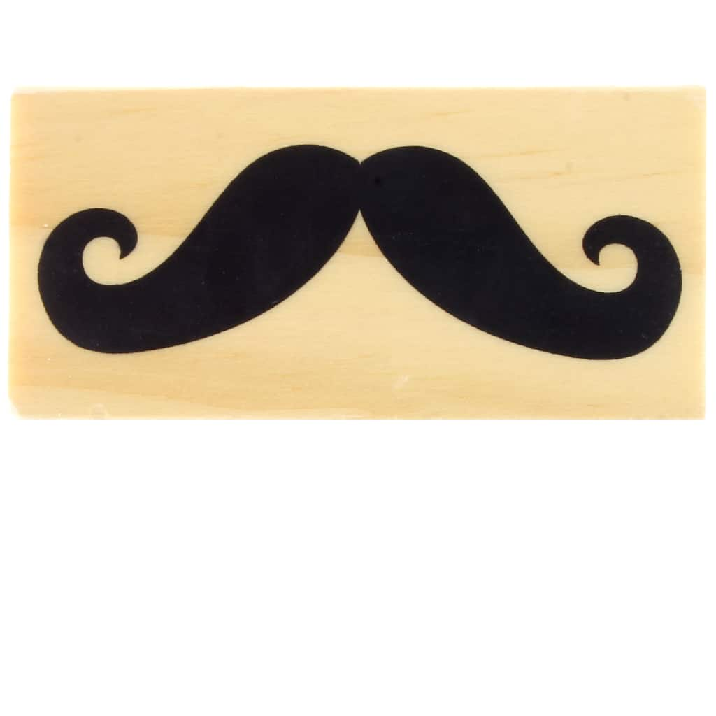 Moustache Rubber Stamp \u03a616mm20mm25mm Rubber Stamp Moustache Stamp