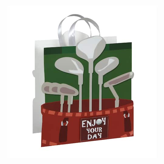 Large Golf Fathers Day Gift Bag