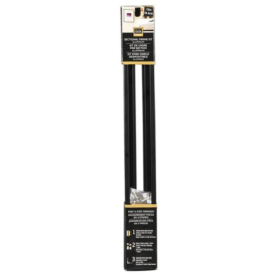 Studio DéŽcor® Black Sectional Frame Kit