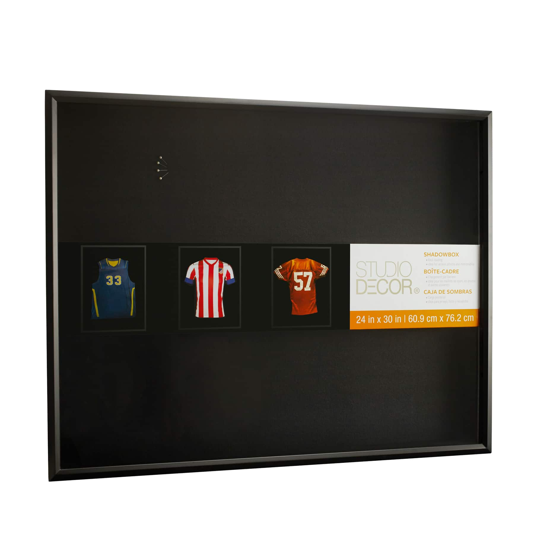 Sports Mem, Cards & Fan Shop Custom Jersey Display Case With Hanger White Backing Choose Your Text And Color Display Cases
