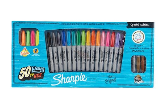 sharpie fine marker special edition set 23 count