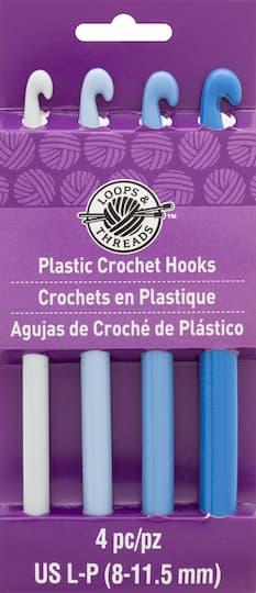 Plastic Crochet Hook Set By Loops & Threads�, L-P | Michaels�