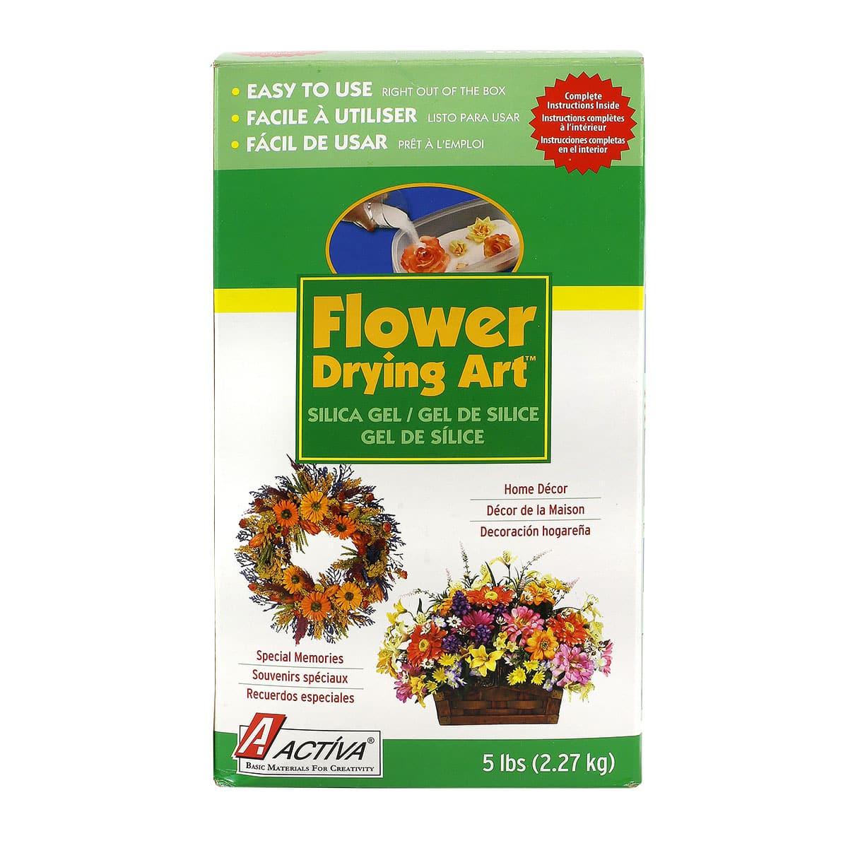Activa Flower Drying Art Silica Gel