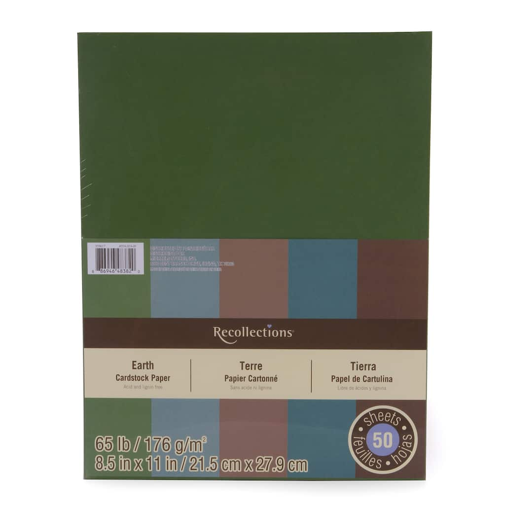 Buy The Earth Cardstock Papers By Recollections At Michaels