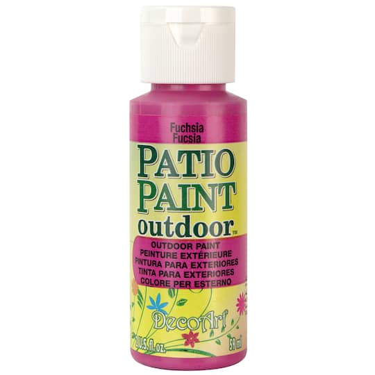 Shop For The Decoart 174 Patio Paint Outdoor At Michaels