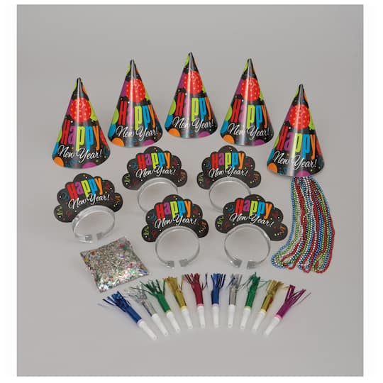 New Years Eve Cheer Party Kit for 10 | New Years Eve Party ...