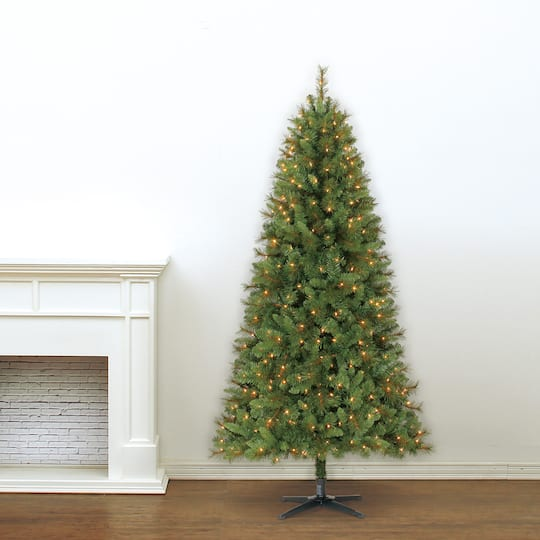 img img img img ... - 7ft. Full Willow Pine Artificial Christmas Tree, Clear Lights By