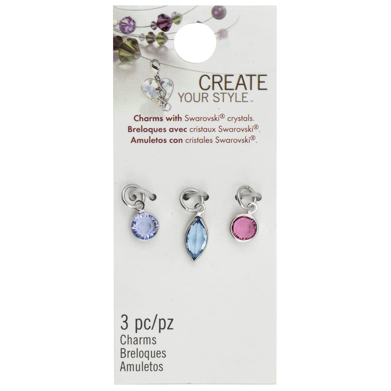 Create Your Style™ Swarovski® Channel Charms