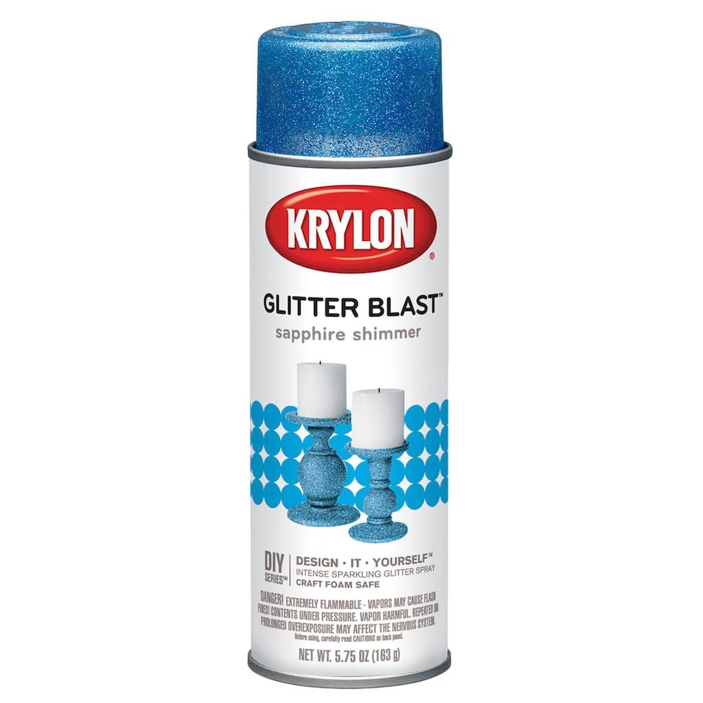 Krylon Glitter Blast Baby Cans Rattle Stick Img