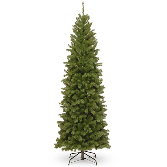 north valley spruce pencil artificial christmas tree unlit