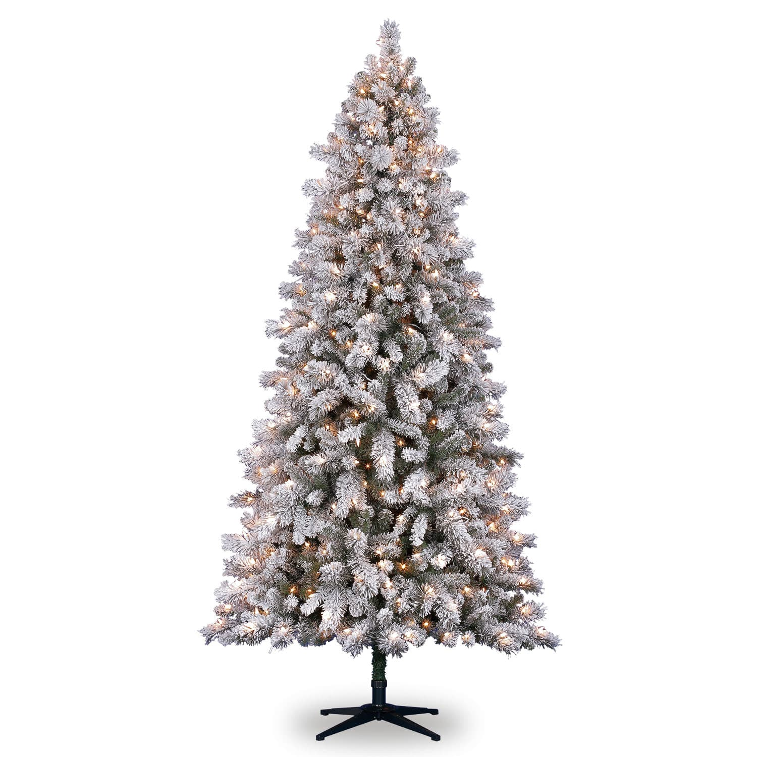 7.5ft. Pre,Lit Vermont Pine Artificial Christmas Tree, Clear Lights by  Ashland®