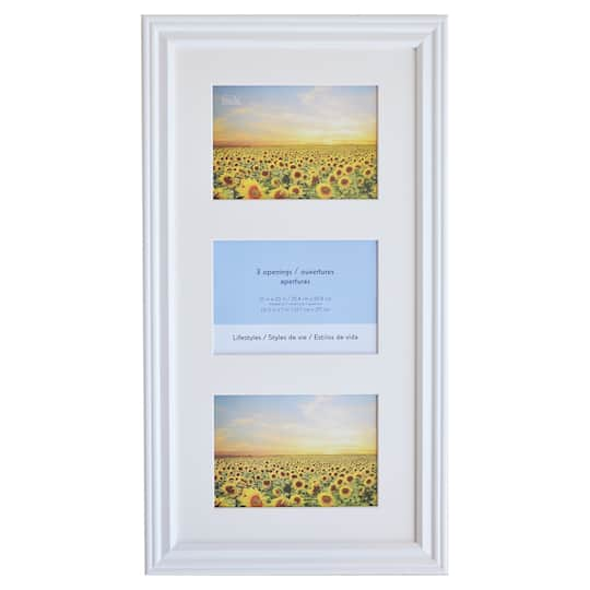 Buy the White 3-Opening Collage Frame, 5\