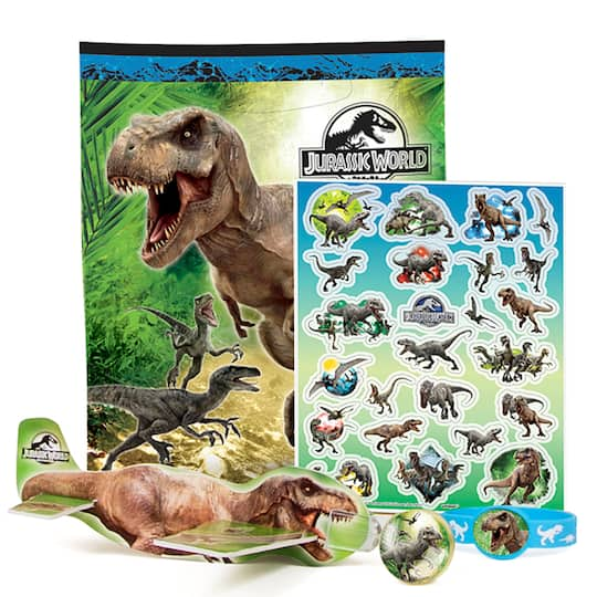 Jurassic World Party Favor Kit For 4