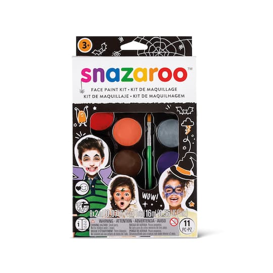 Buy The Snazaroo Face Paint Kit For Halloween At Michaels
