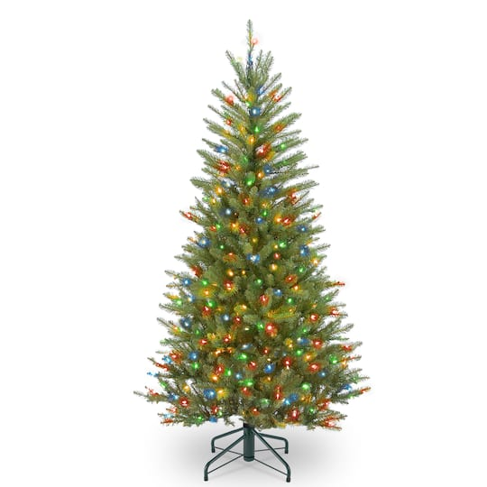 Christmas Tree Stand That Turns: By The 4.5 Ft. Pre-Lit Dunhill® Fir Slim Artificial