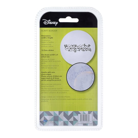 Disney® Craft Dies: Disney® Frozen Let It Go Die Cut Border