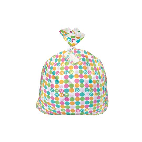 Jumbo Plastic Pastel Baby Shower Gift Bag Baby Shower Gift Wrap