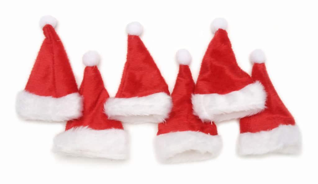dea07391b5901 Mini Santa Hats. img