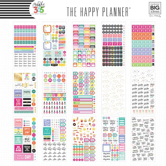 Create 365® The Happy Planner® Mini Sticker Sheets, Mom