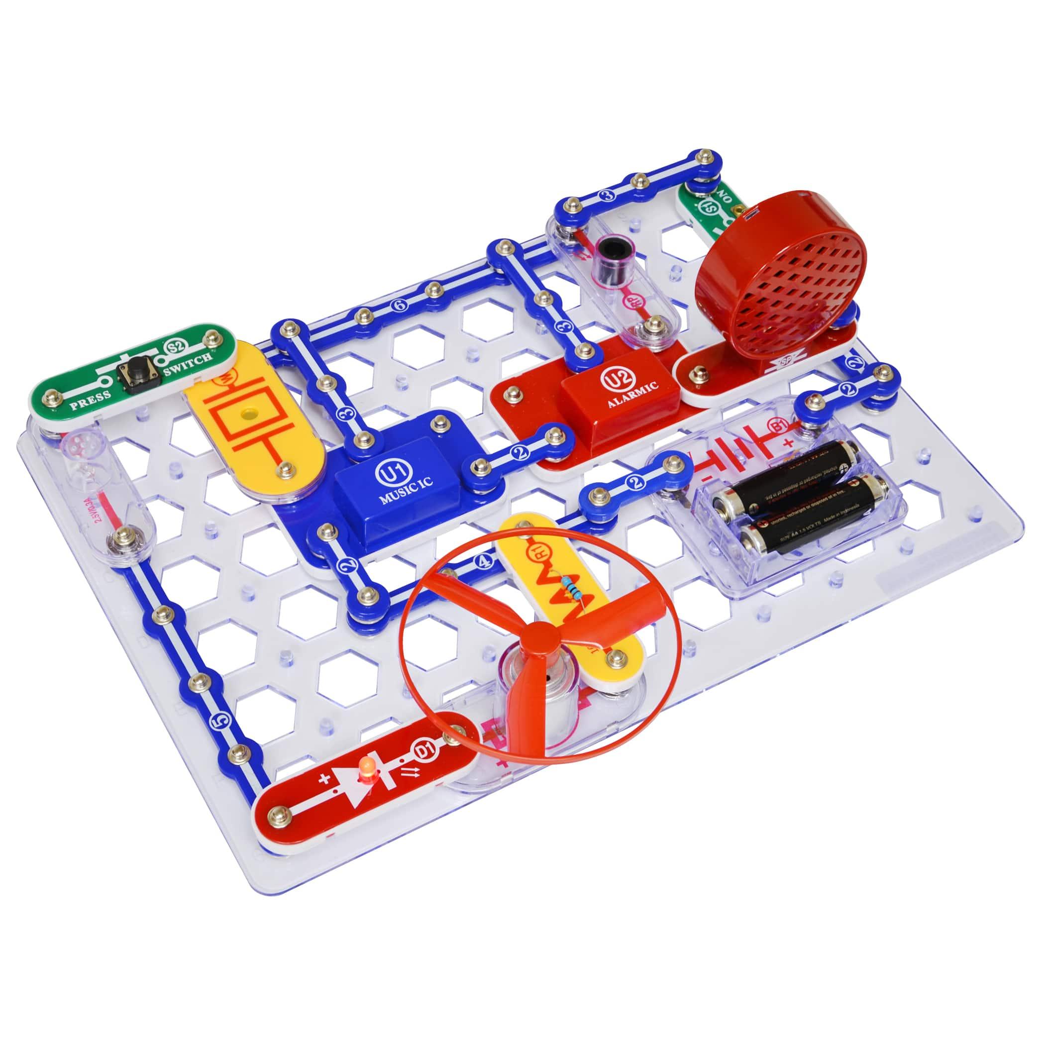 snap circuits jr 100 experiments rh michaels com