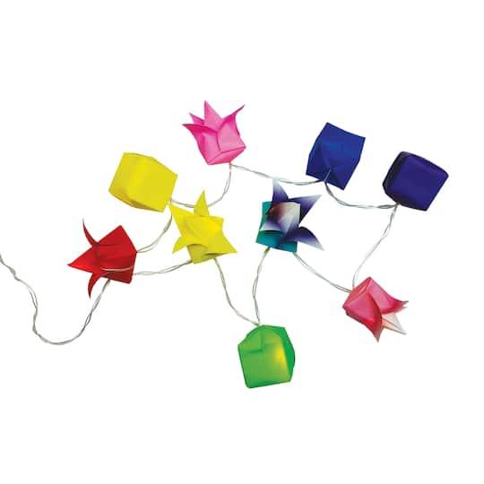 Find The Yasutomo Origami Lantern Garland Set At Michaels