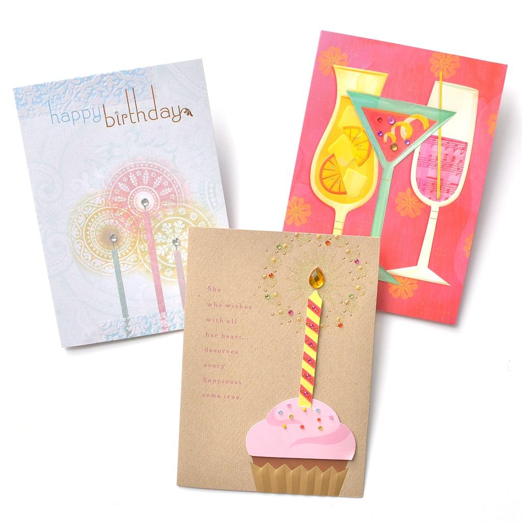 Get The Gartner Studios Premium Birthday Cards 3 Count At Michaels