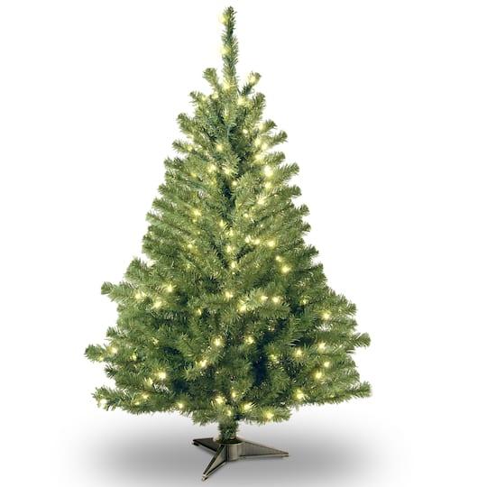 ... Artificial Christmas Tree, Clear Lights. img. img img - 4 Ft. Pre-Lit Kincaid Spruce Artificial Christmas Tree, Clear Lights