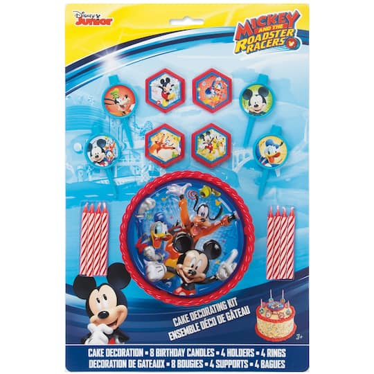 Mickey Mouse Birthday Cake Decorating Kit   Mickey Mouse ...