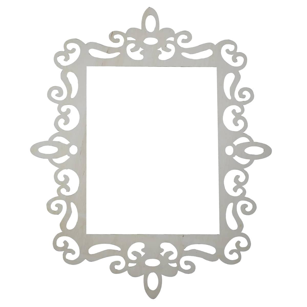 Artminds Wooden Laser Cut Frame 13 3 4 X 10 3 4 Opening