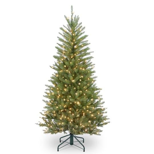 Next Slim Christmas Tree: Buy The 4.5 Ft. Pre-Lit Dunhill® Fir Slim Artificial