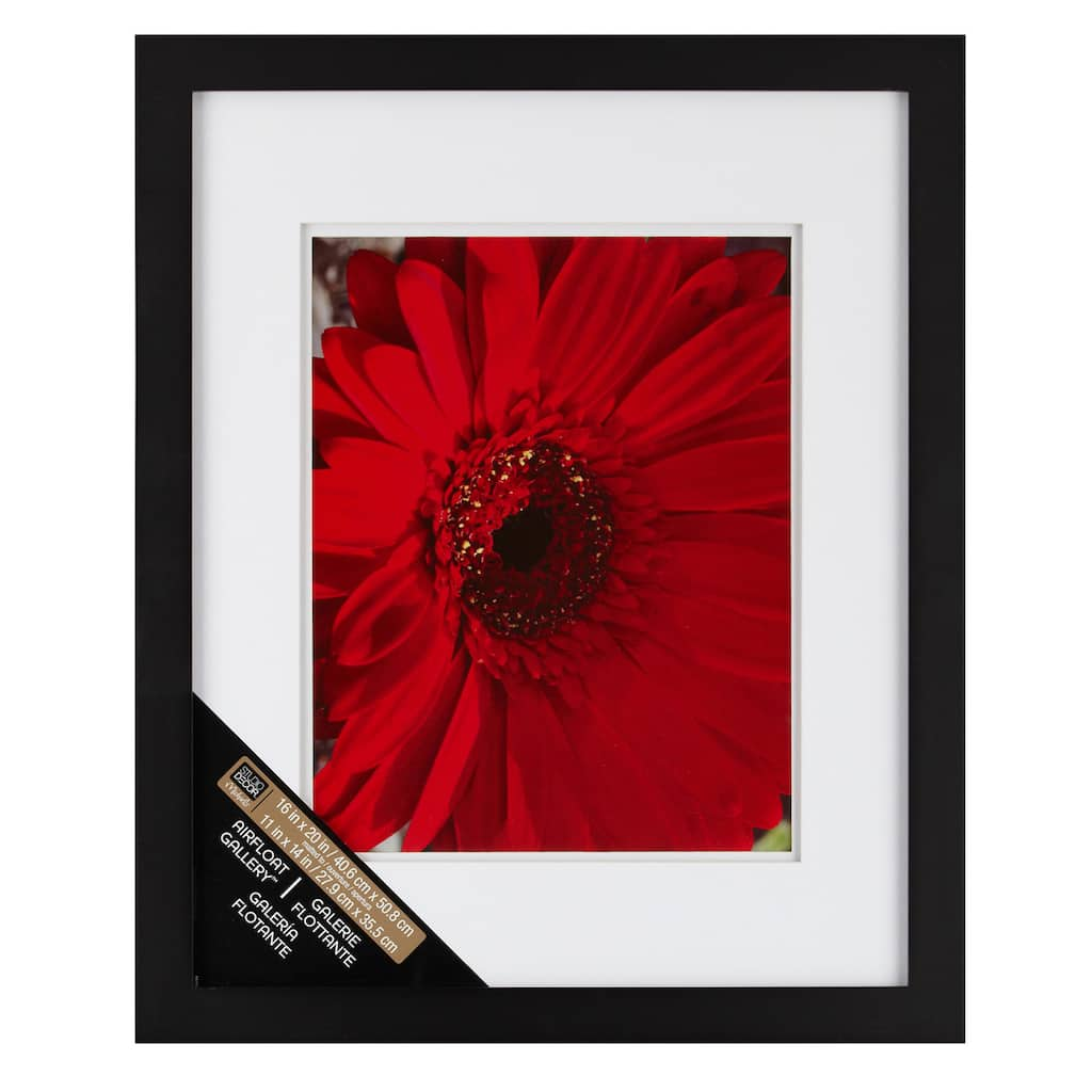 Black Gallery Wall Frame With Double Mat By Studio Décor®