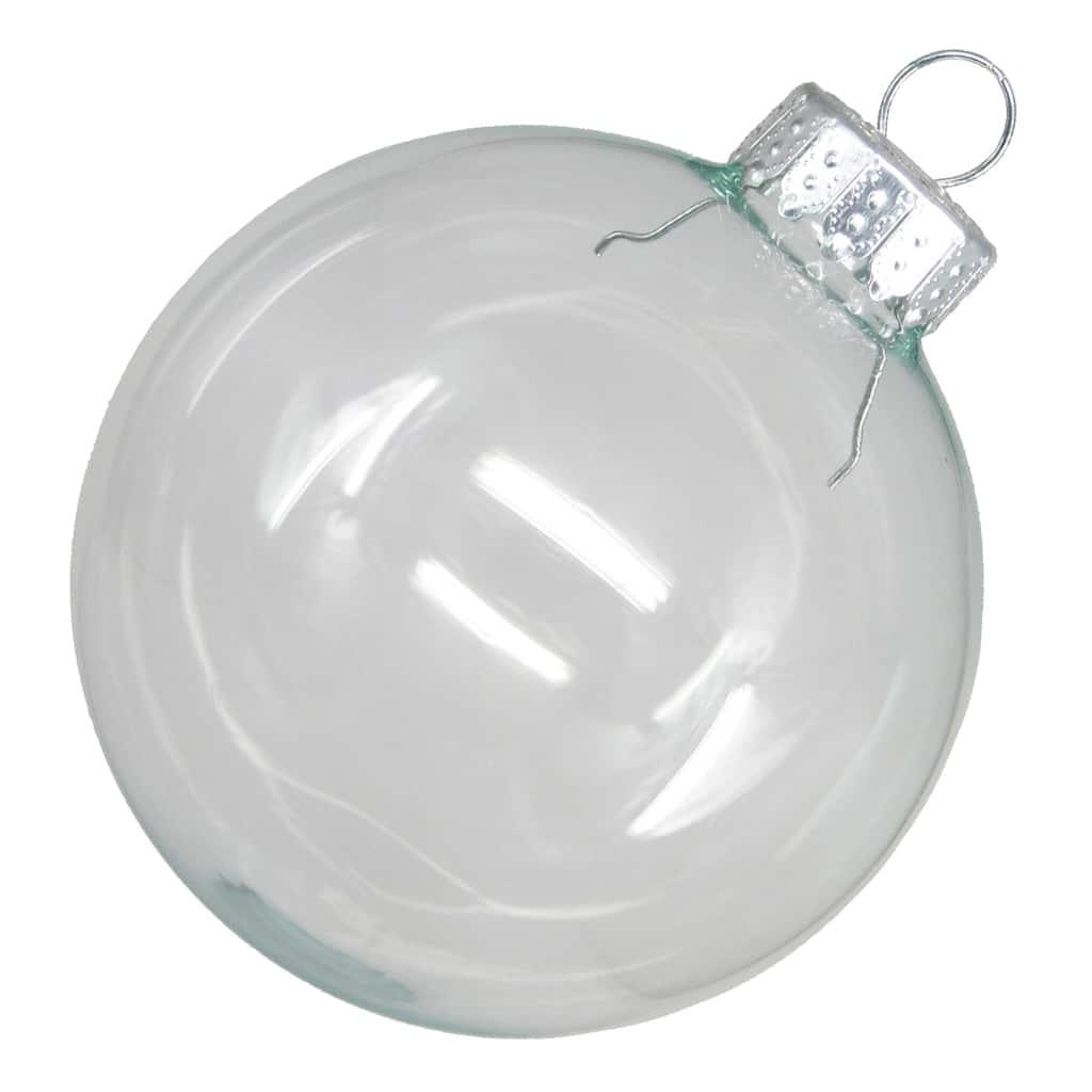 "Celebrate It Glass Ball Ornament Set, 6, 2 3/4"""