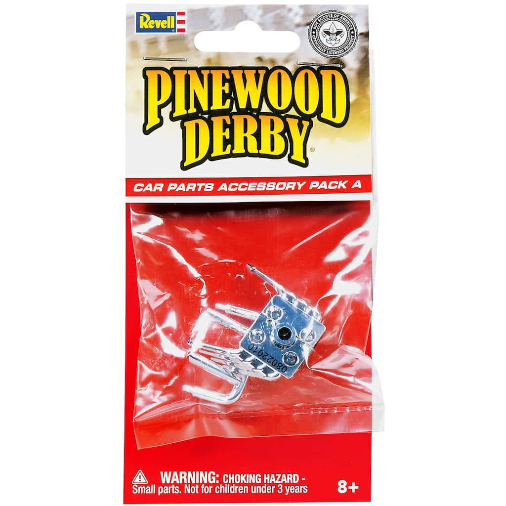 Revell® Pinewood Derby® Car Parts Accessory Pack