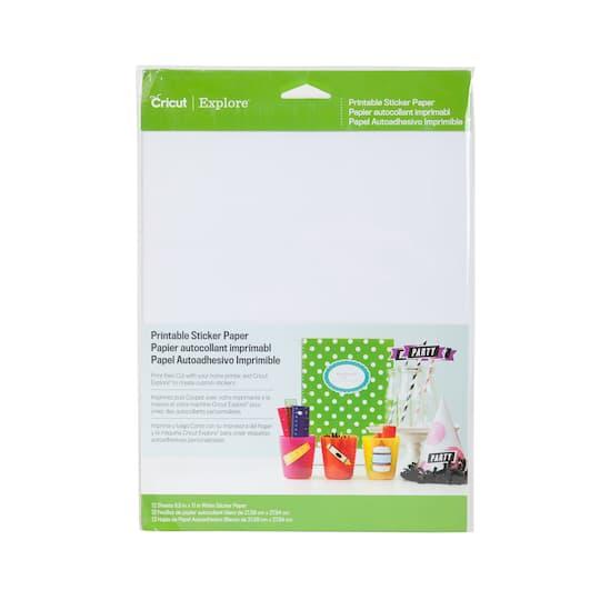 cricut® printable sticker paper