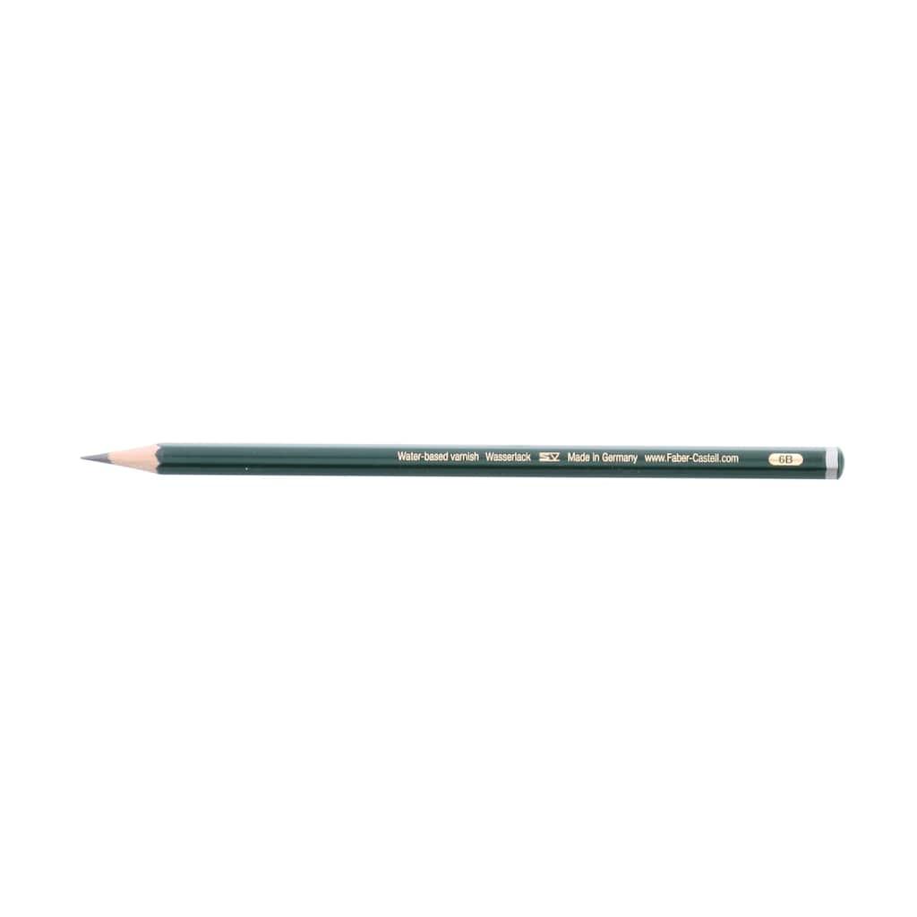 Faber-Castell 9000 Graphite Pencil, 6B