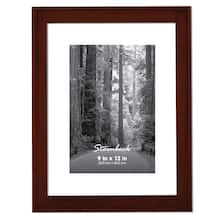 Thin Coffee Steinbeck Frame By Aaron Brothers