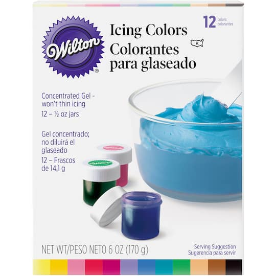 Wilton® Gel Icing Colors, 12 Pieces