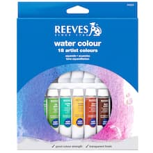 Reeves Watercolor Set, 18 Count